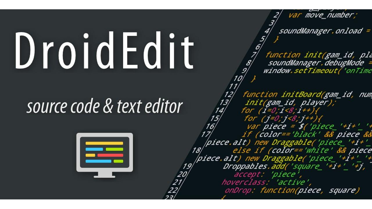 DroidEdit Pro poster