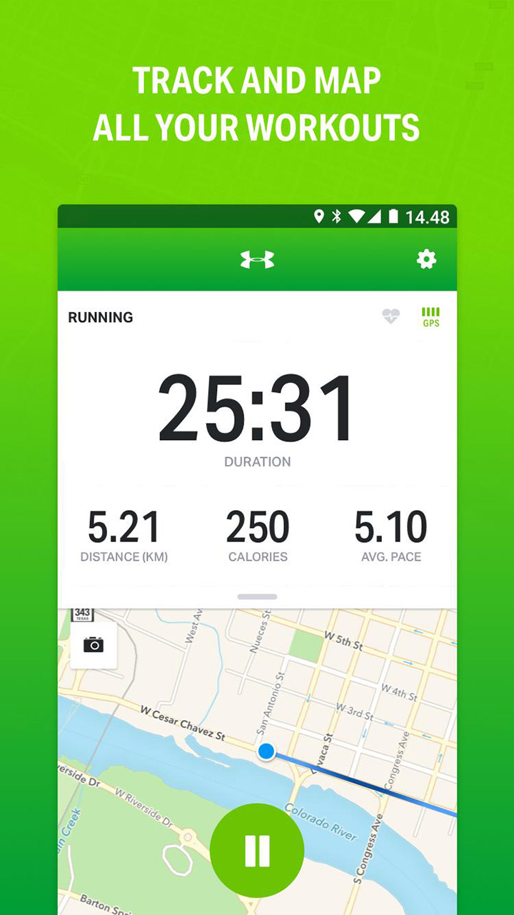 Endomondo Running & Walking screen 0