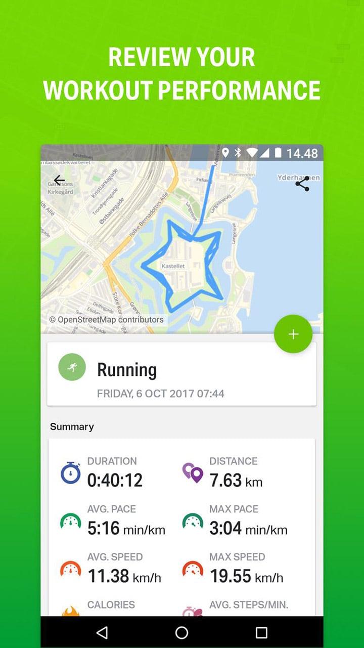 Endomondo Running & Walking screen 1