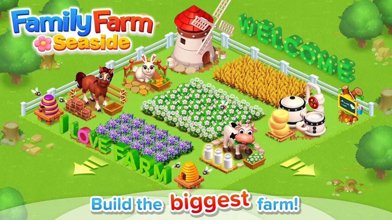 Family Farm Seaside poster
