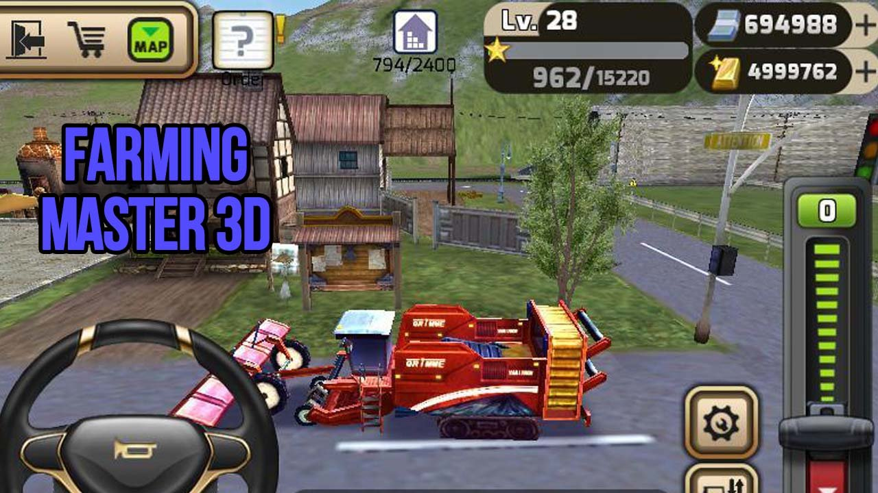 Farming Master 3D poster