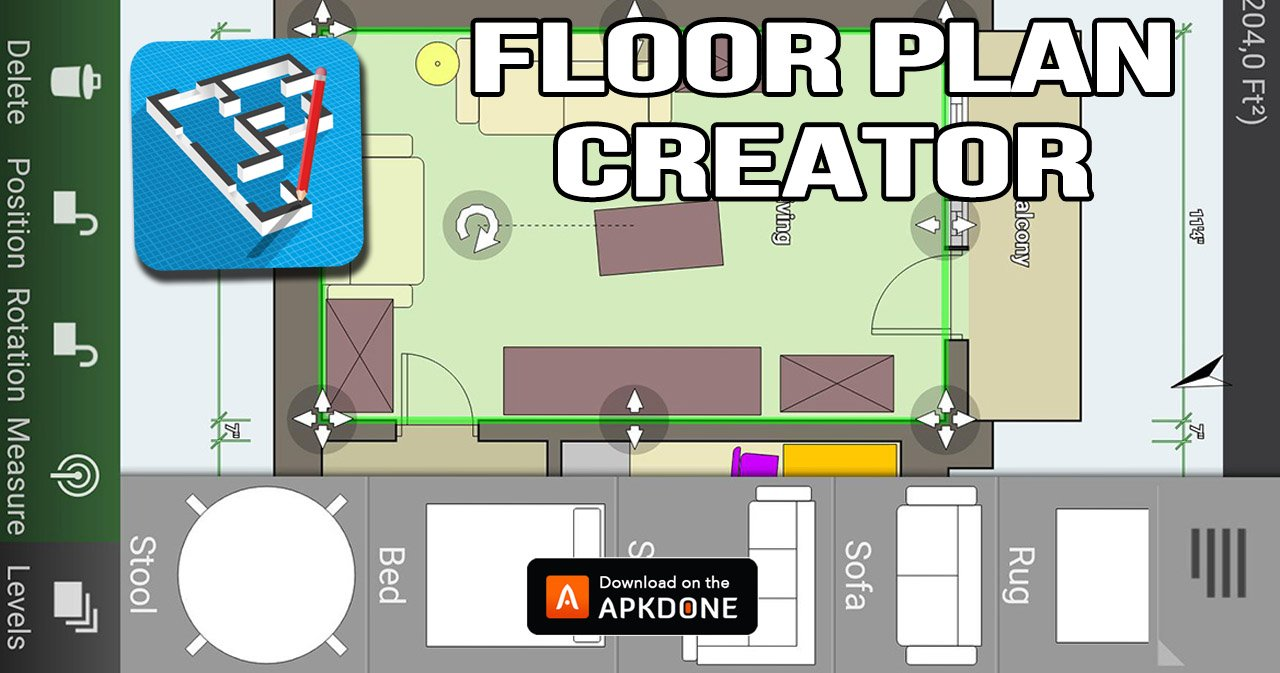 Floor Plan Creator Mod Apk 3 5 2 Download Unlocked Free For Android
