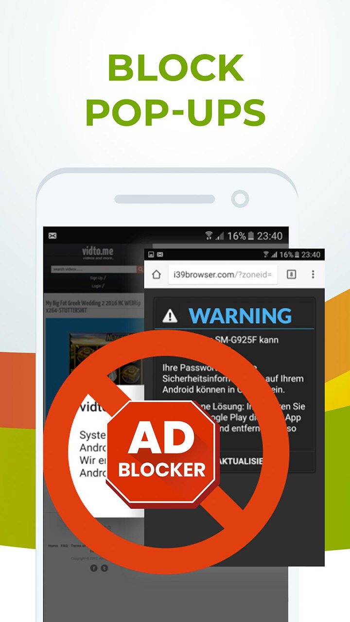Free Adblocker Browser screen 1
