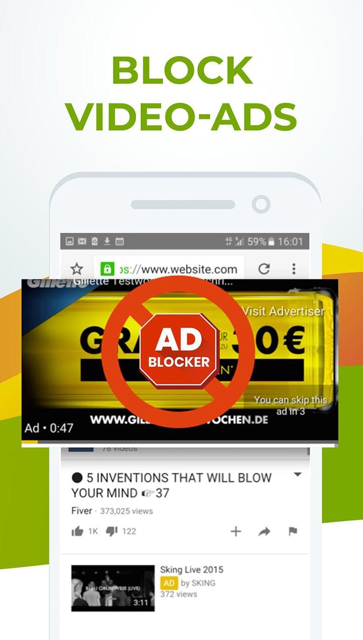 Free Adblocker Browser screen 2