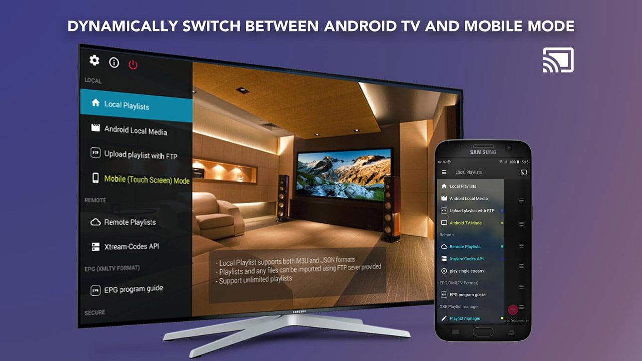 GSE SMART IPTV screen 2