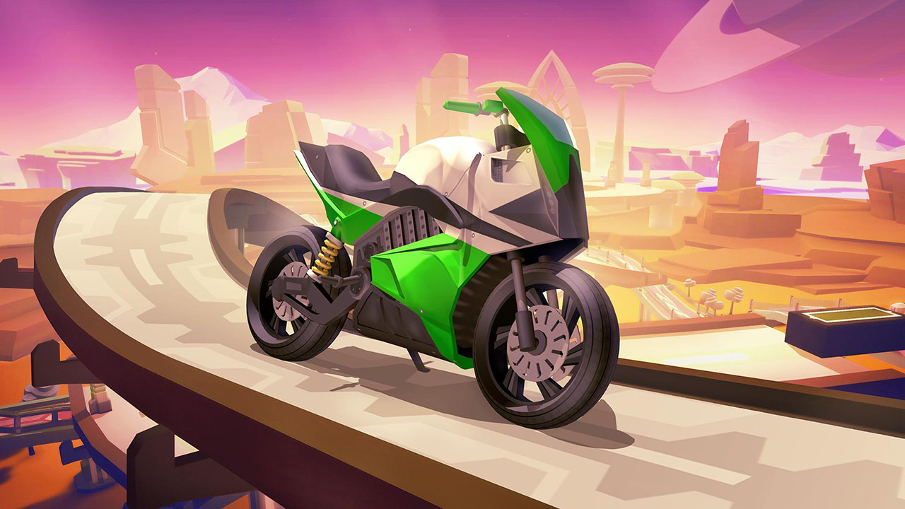 Gravity Rider Zero screen 0