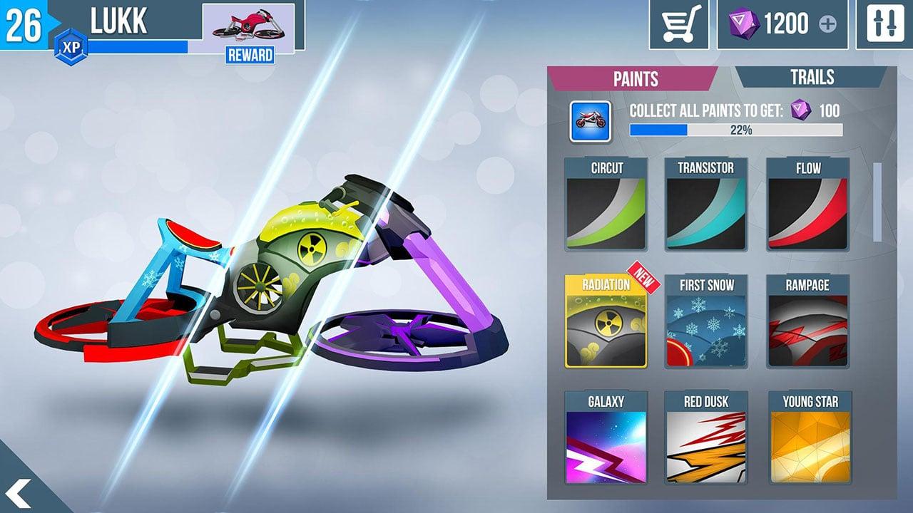 Gravity Rider Zero screen 1