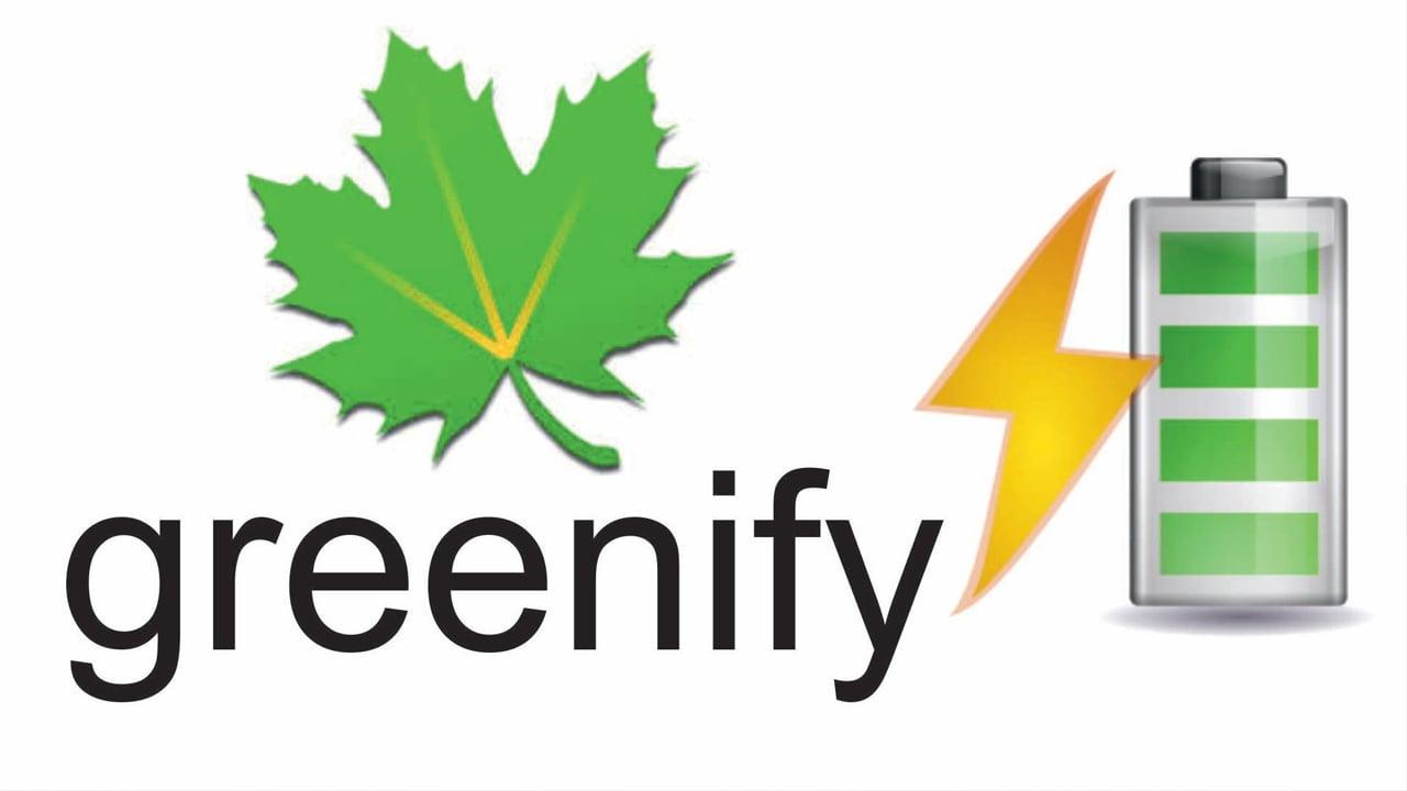 Greenify poster