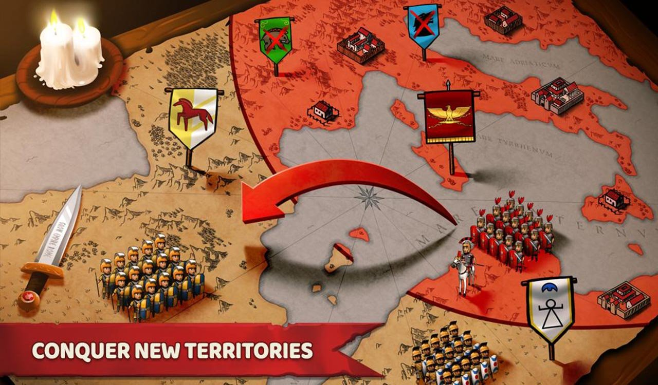 Grow Empire Rome screen 4