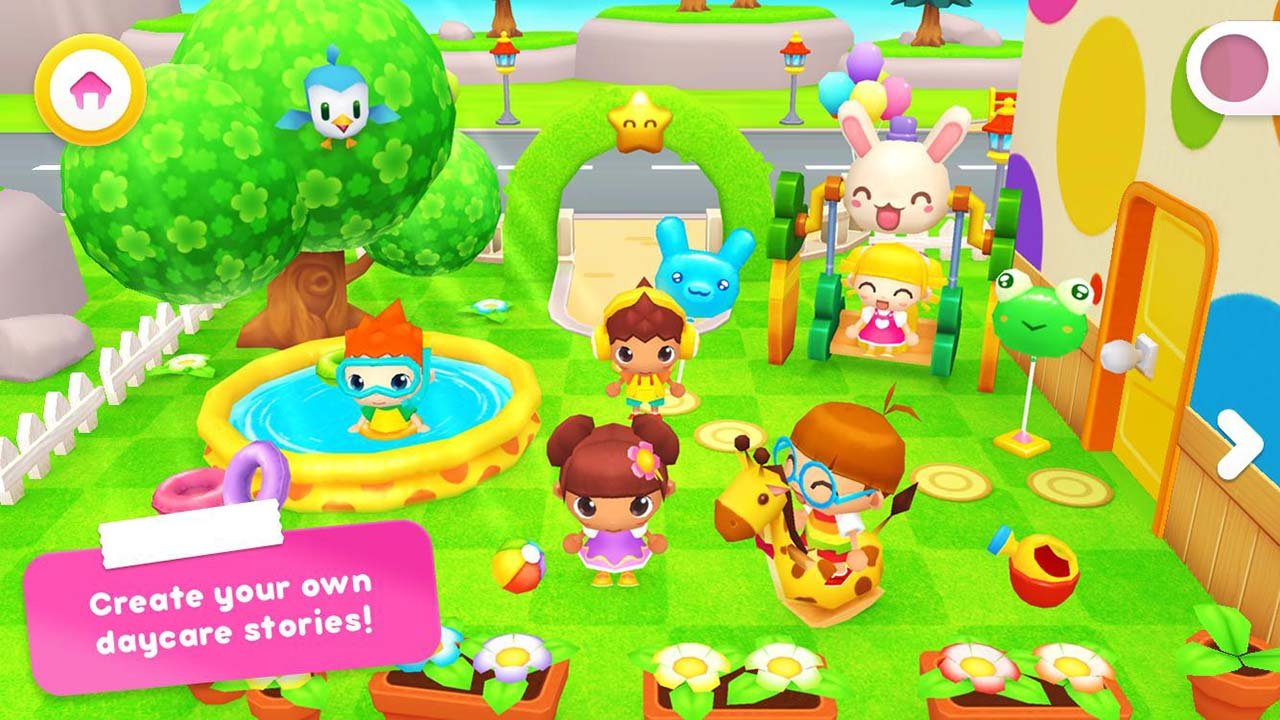 Happy Daycare Stories game screen 0