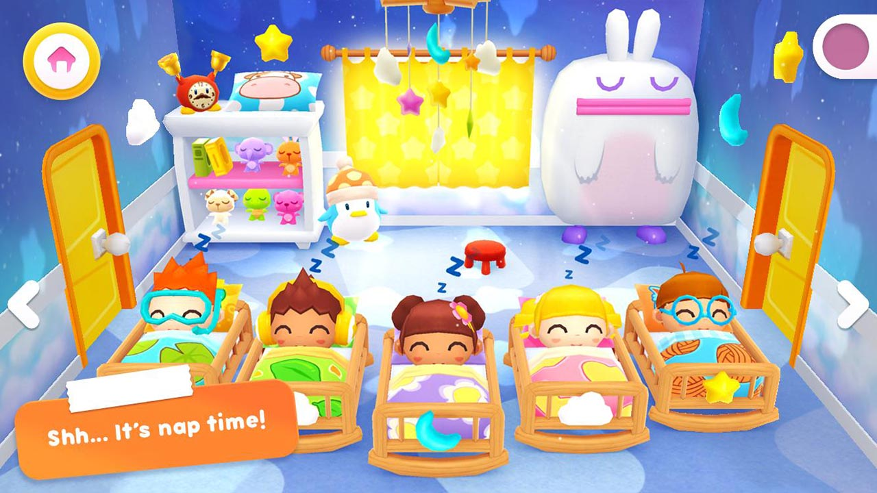 Happy Daycare Stories game screen 3