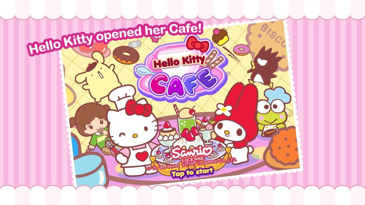 Hello Kitty Cafe poster