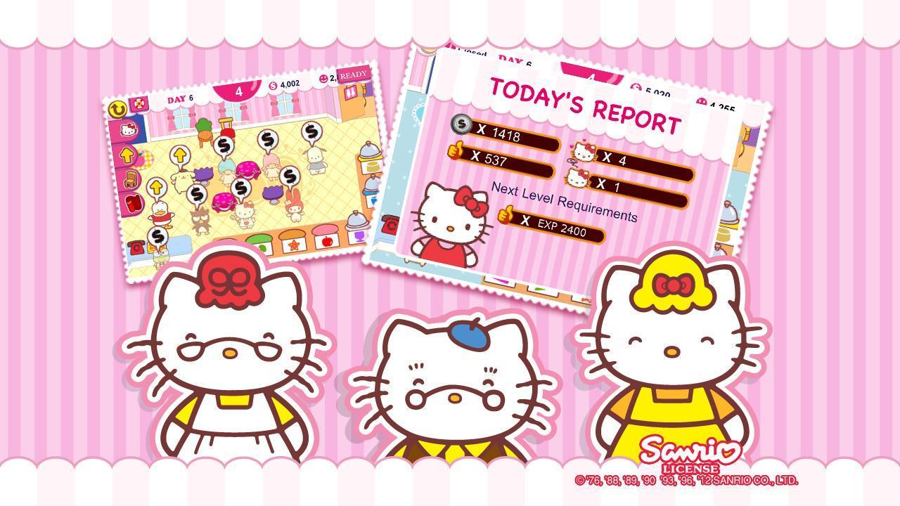 Hello Kitty Cafe screen 1