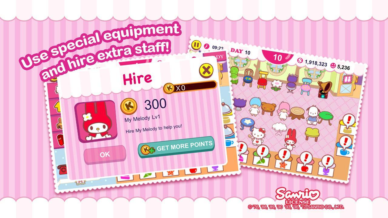 Hello Kitty Cafe screen 3