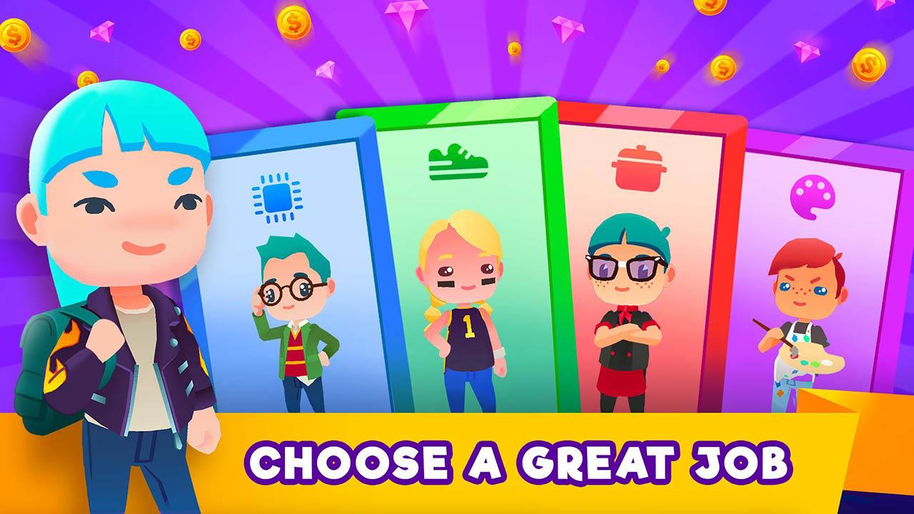 Idle Life Sim screen 1