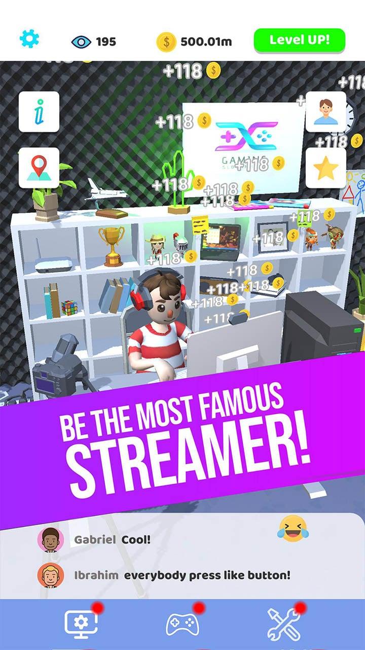 Idle Streamer screen 0