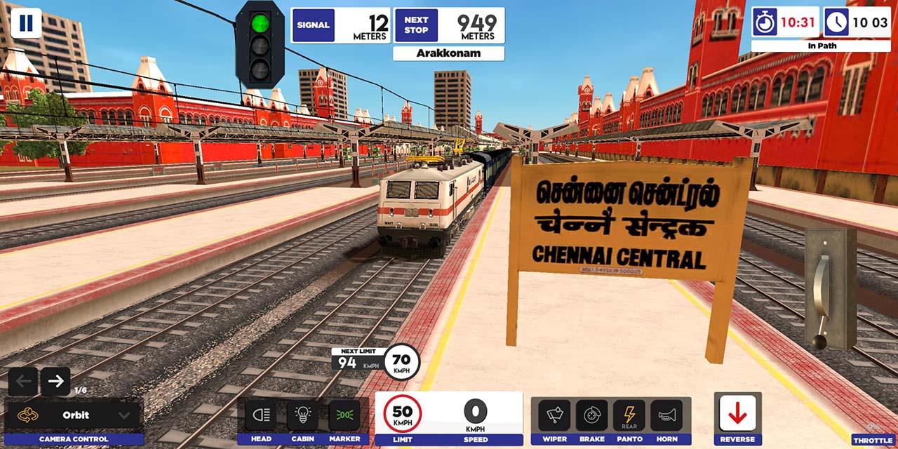 Indian Train Simulator screen 0