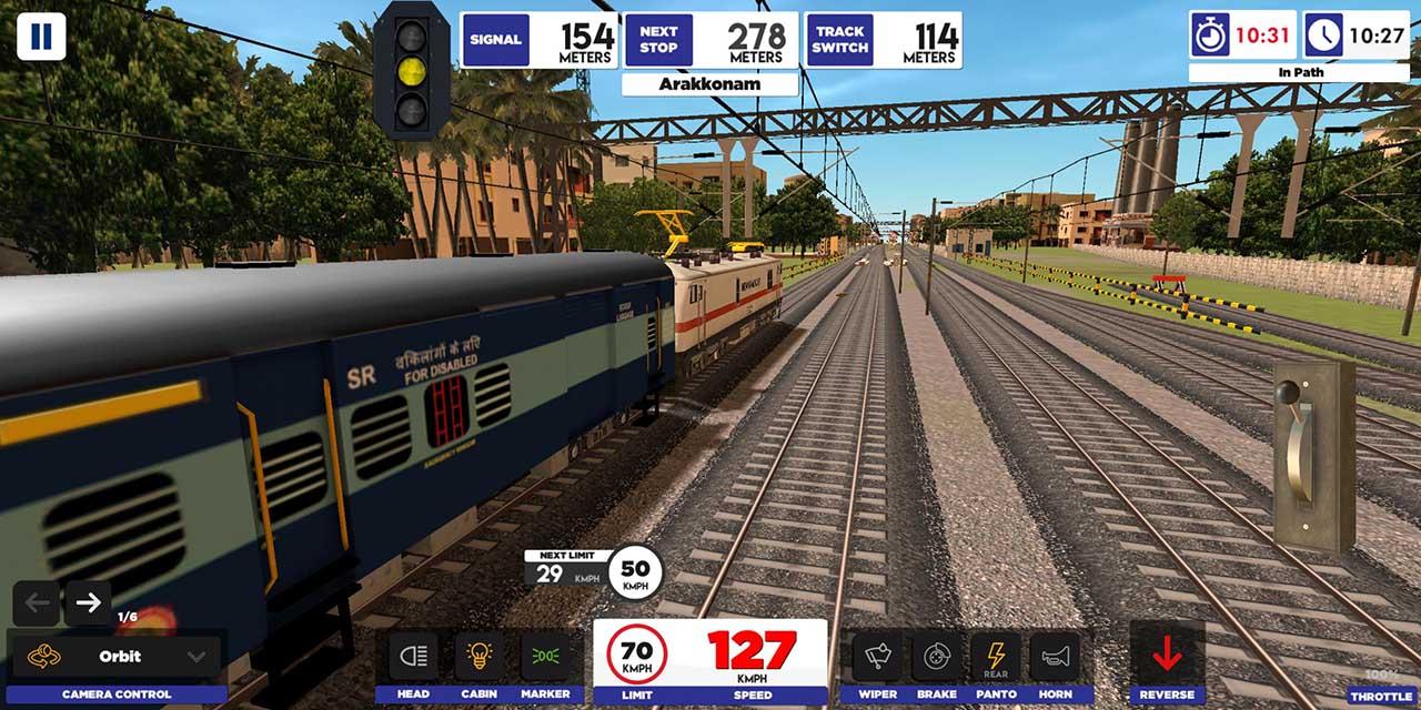 Indian Train Simulator screen 1