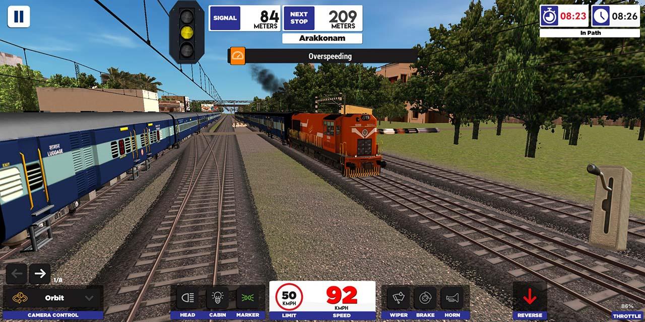 Indian Train Simulator screen 2