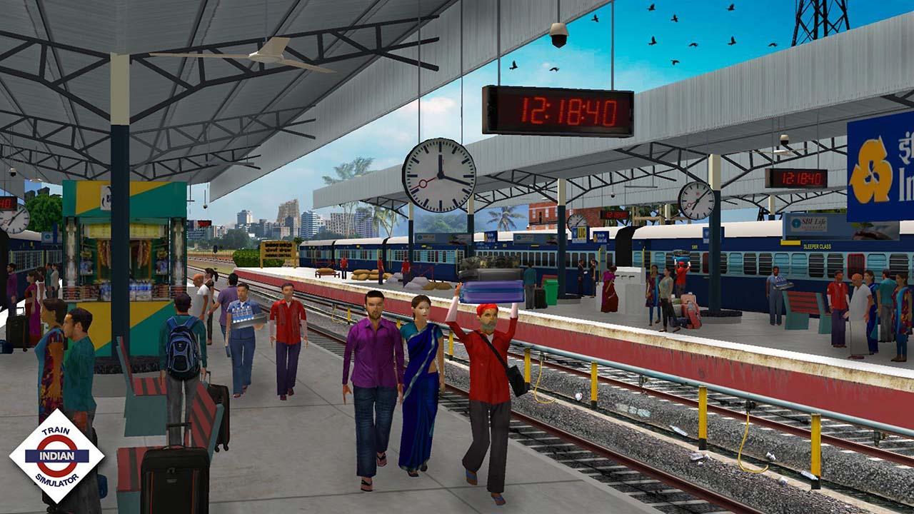 Indian Train Simulator screen 3