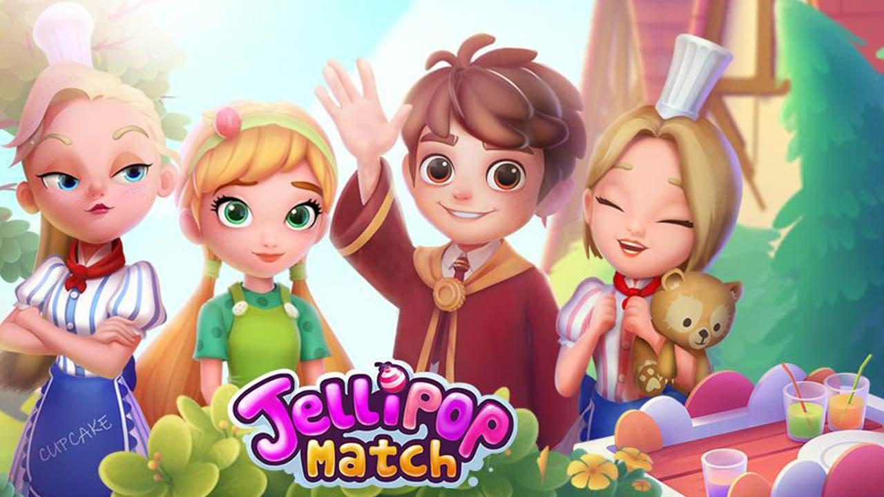Jellipop Match poster