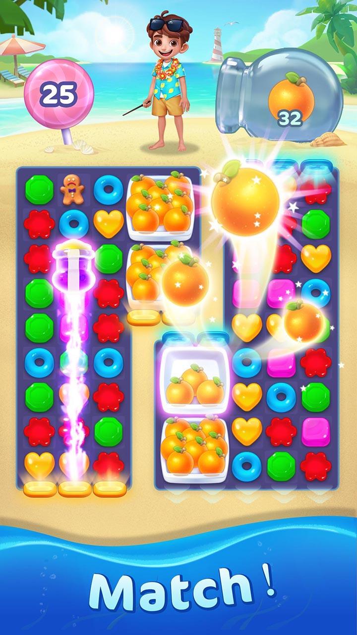 Jellipop Match screen 3