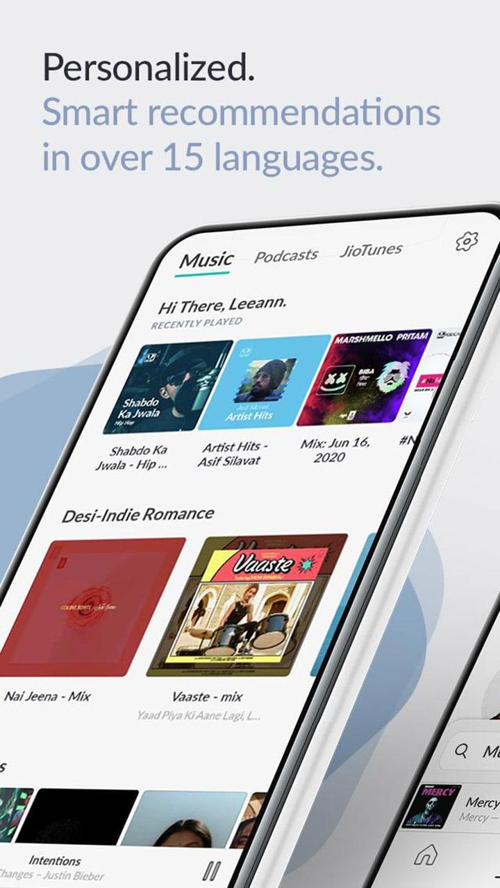 JioSaavn Music & Radio screen 0