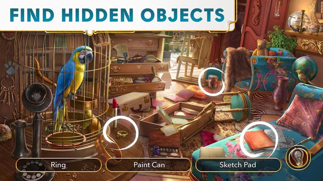 June's Journey Hidden Objects screen 3