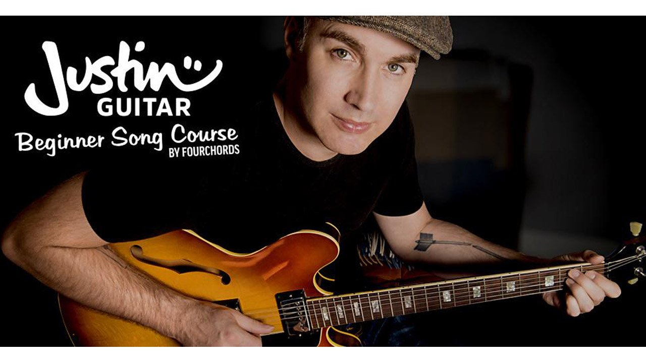 Justin Guitar Beginner Lessons Play Real Songs poster