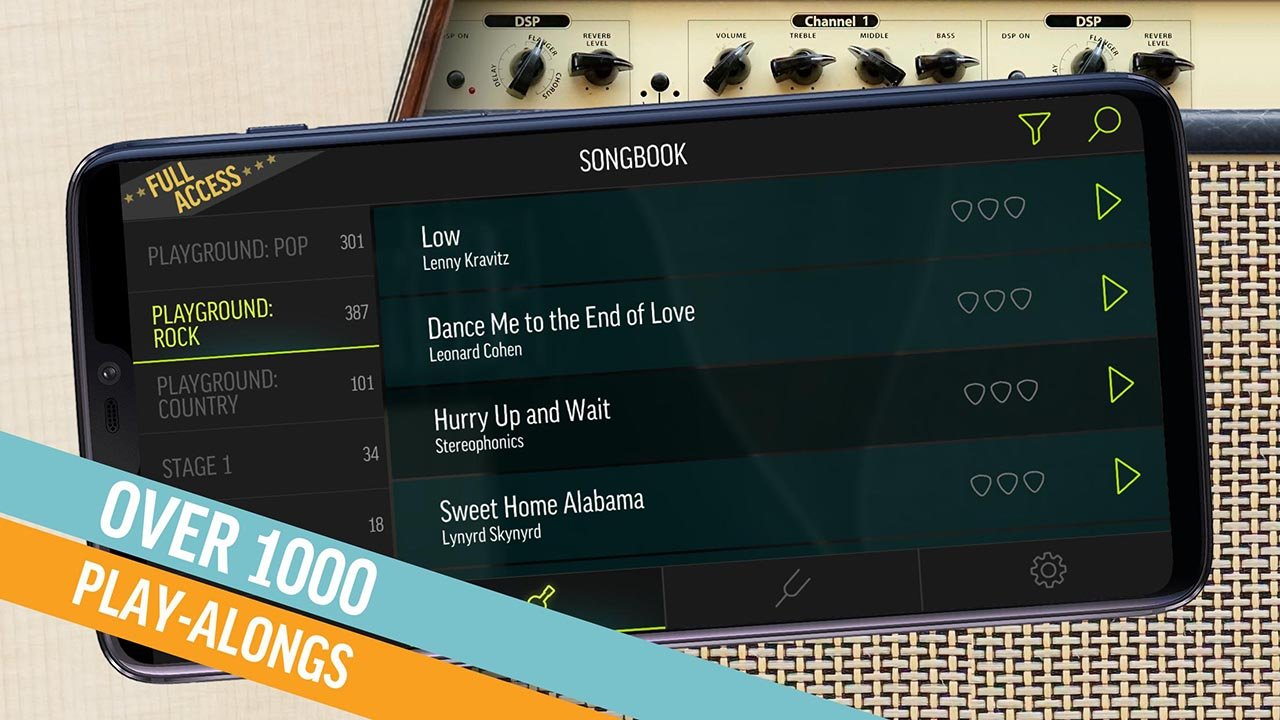 Justin Guitar Beginner Lessons Play Real Songs screen 1