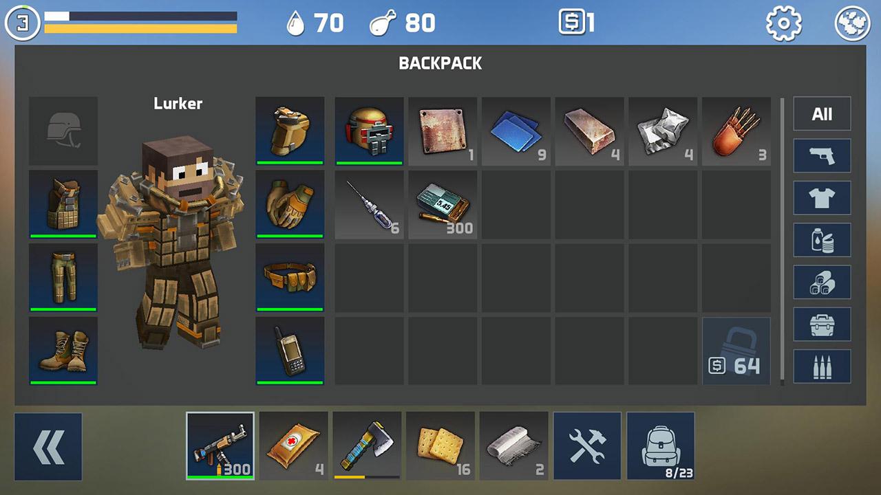 LastCraft Survival screen 2