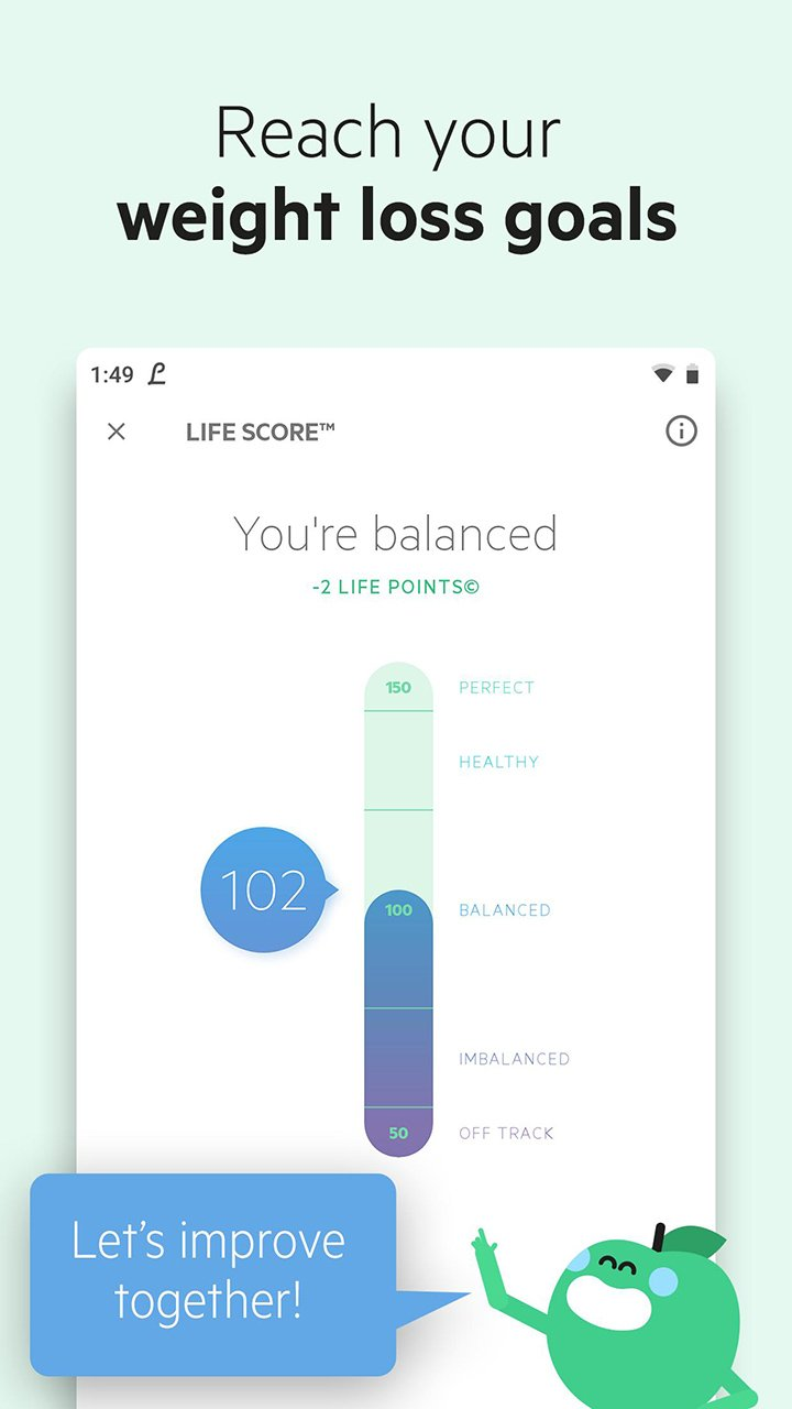 Lifesum screen 3