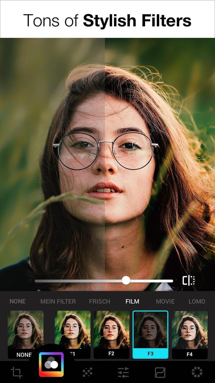 Lumii Photo Editor screen 0