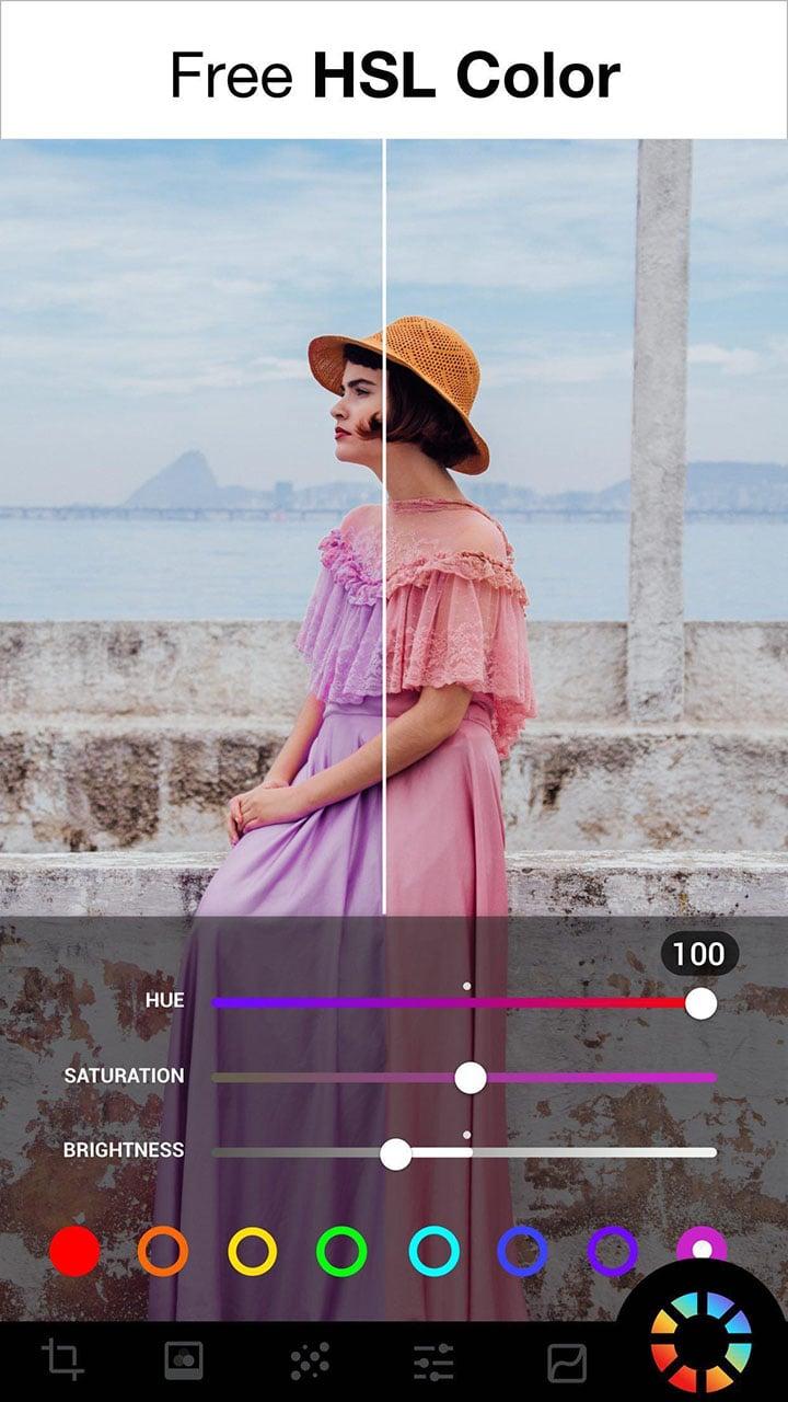 Lumii Photo Editor screen 2