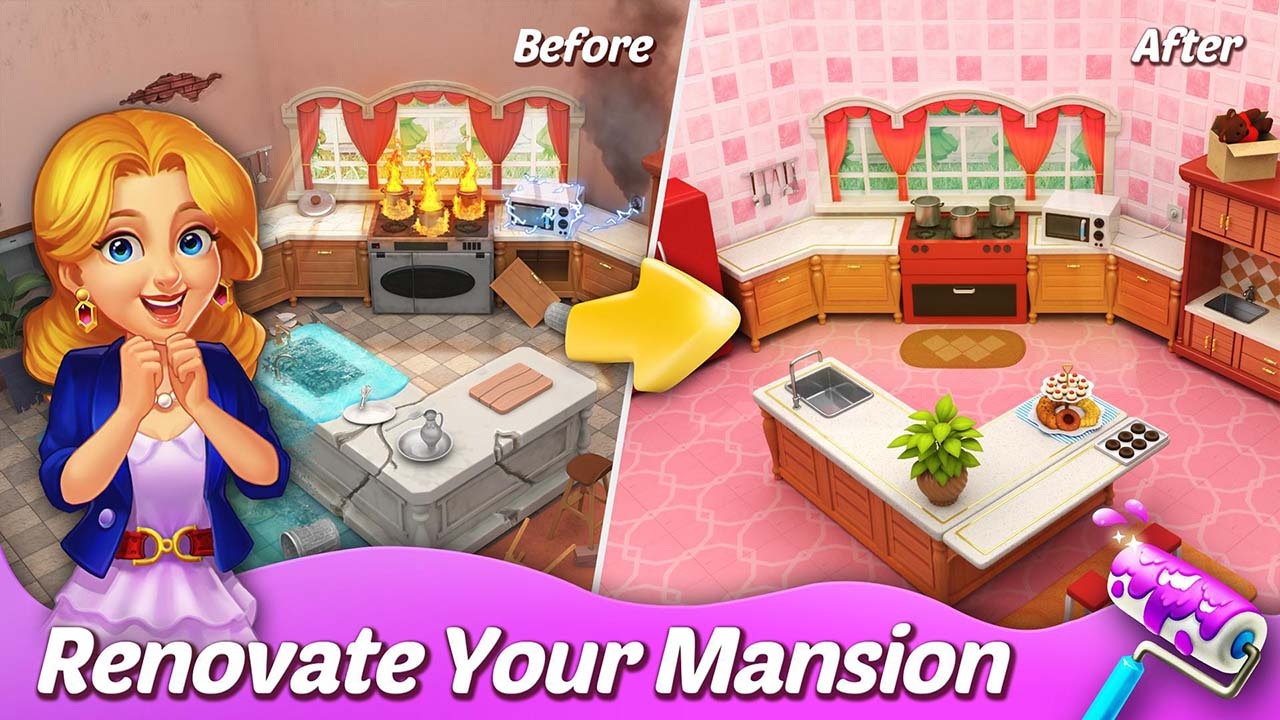 Matchington Mansion screen 1