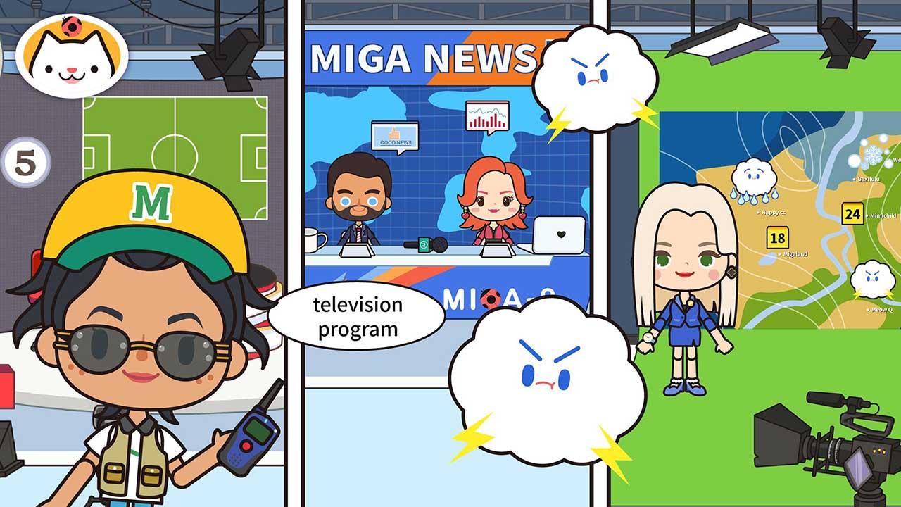 Miga Town My TV Shows screen 2