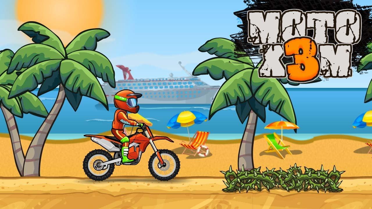 Moto X3M Bike Race Game poster