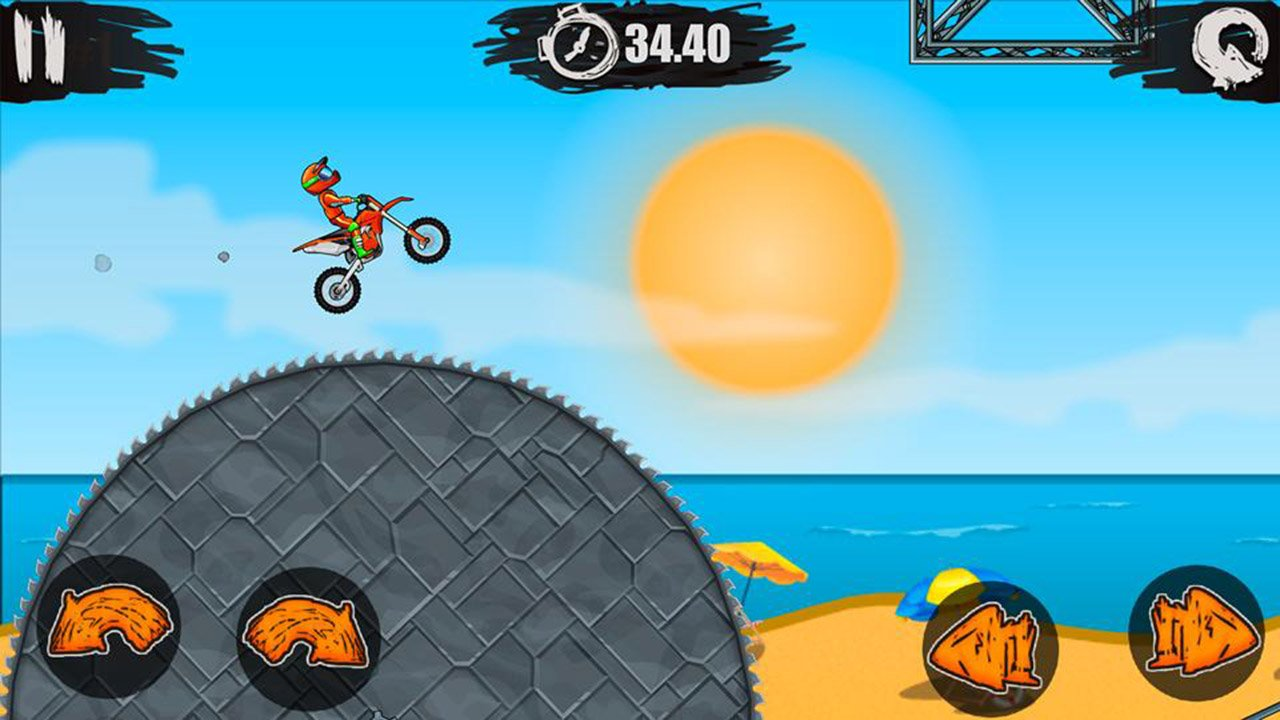 Moto X3M Bike Race Game screen 0