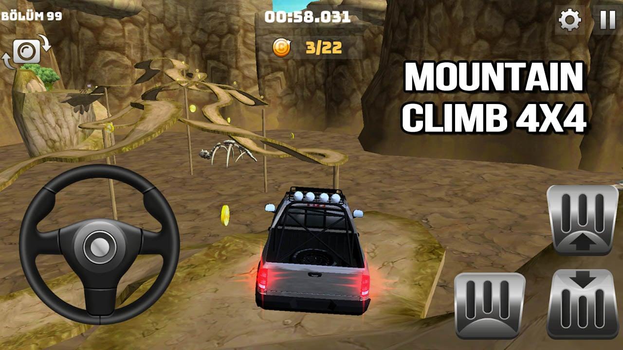 Mountain Climb 4x4 poster