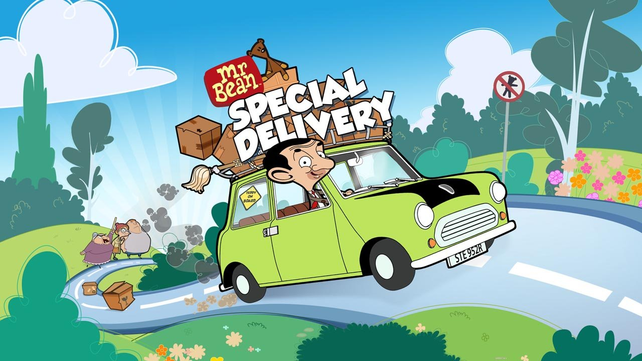 Mr Bean Special Delivery poster