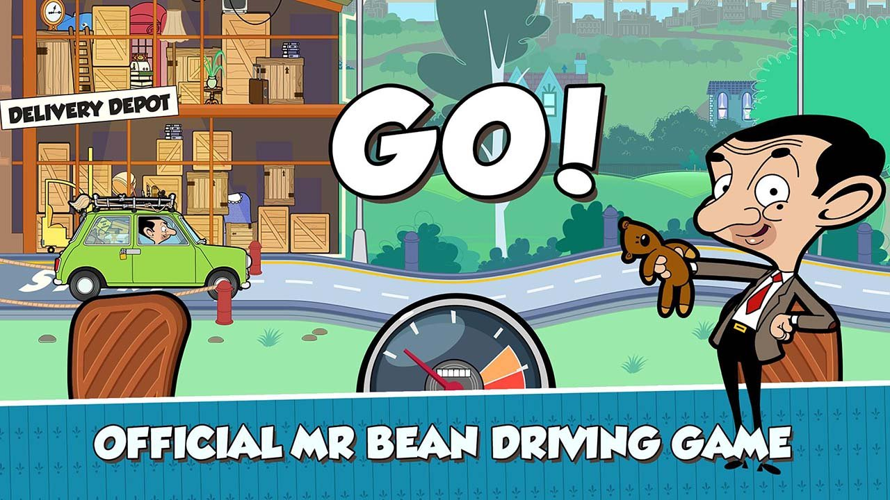 Mr Bean Special Delivery screen 1