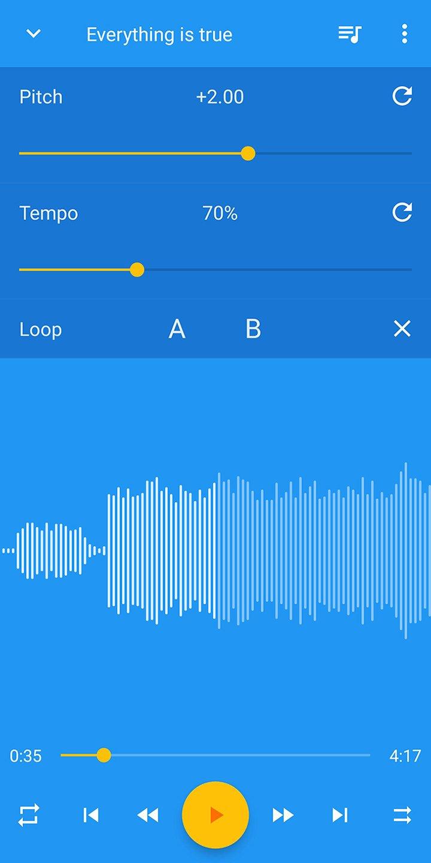 Music Speed Changer screen 0