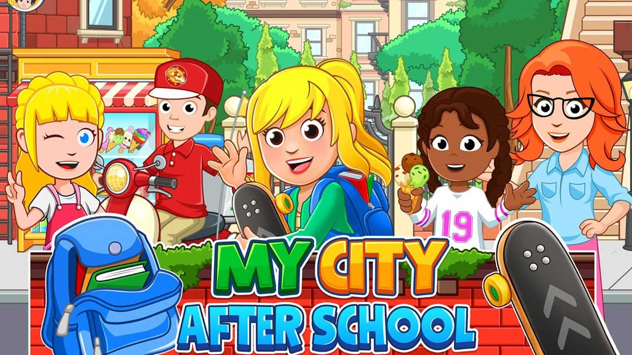 My City After School poster