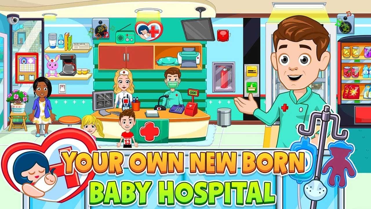 My City Newborn baby screen 1