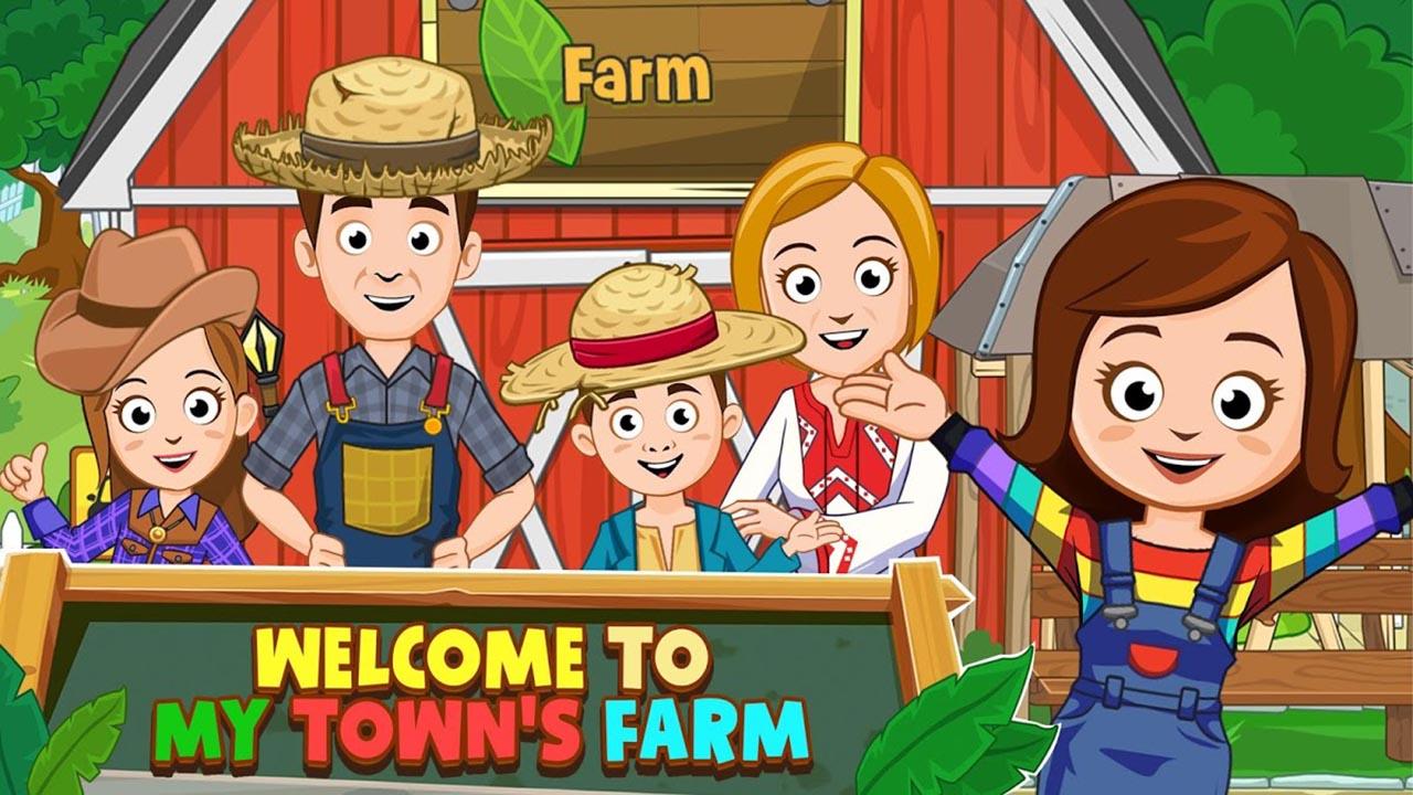 My Town Farm screen 1