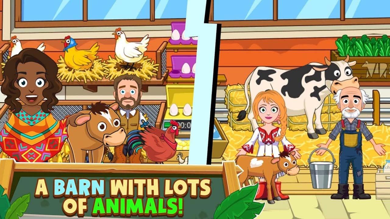 My Town Farm screen 2
