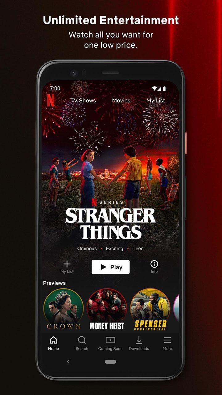 Netflix screen 0