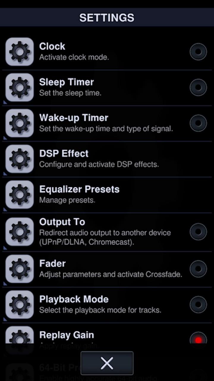 Neutron Music Player screen 5
