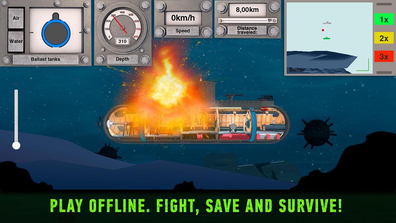 Nuclear Submarine inc screen 1