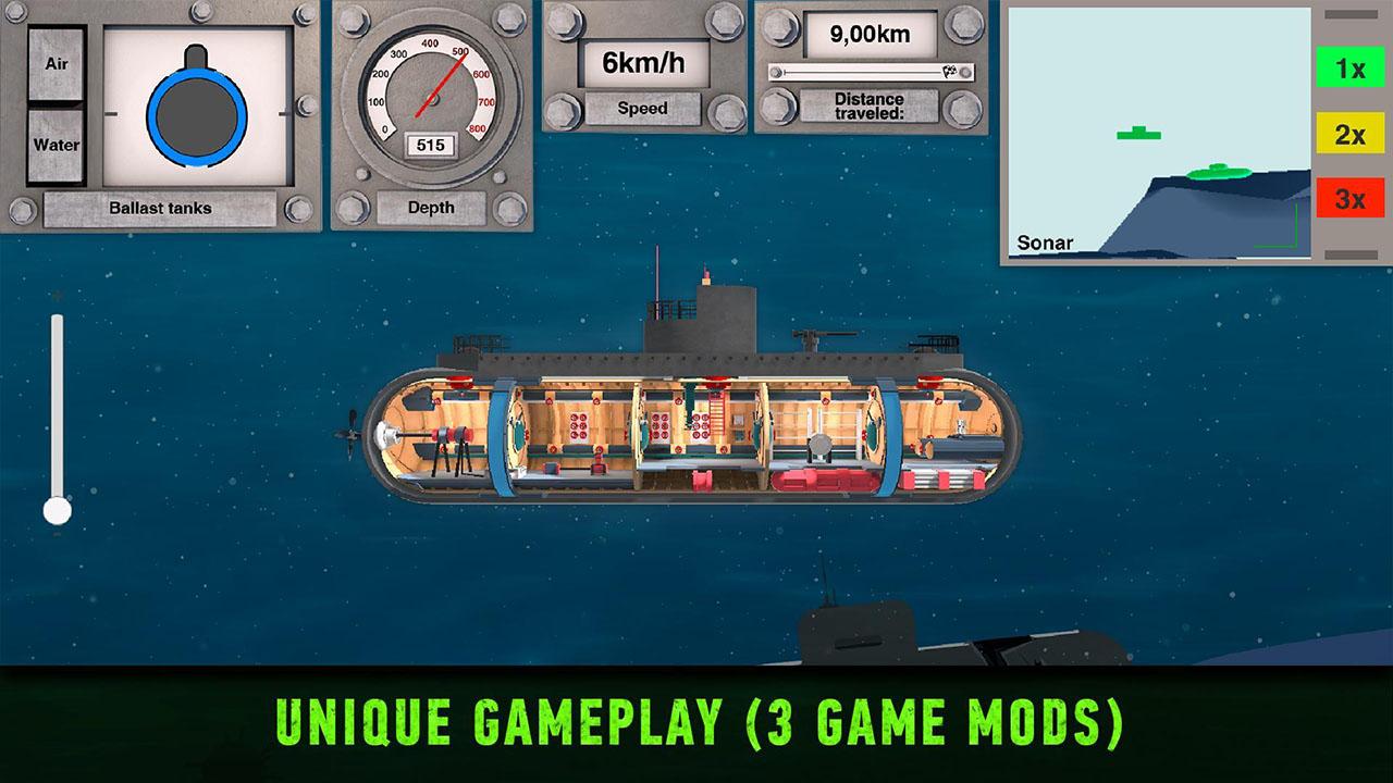 Nuclear Submarine inc screen 3